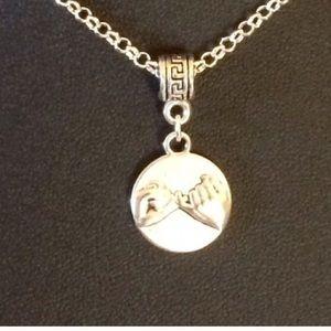 Jewelry - Pinkie swear silver necklace